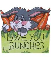 Happy Animal Antics Sign - Love you bunches