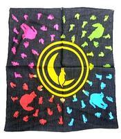 Tarot Cloth Bandana Scarf - Cats 65x65cm