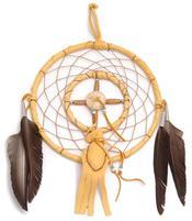 Navajo Dreamcatcher by Curtis Bitsui - Medicine Wheel n' Bag, 10,5cm