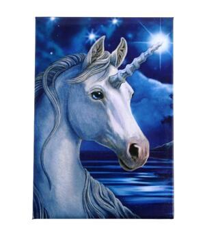 Lisa Parker Metal Magnet - Unicorn