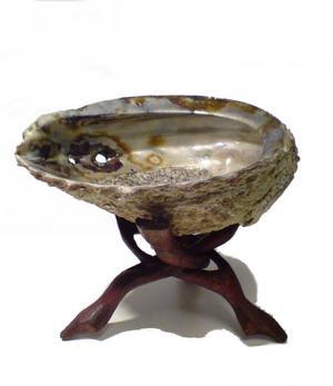 Smudge Burner - Abalone Shell 12-15cm