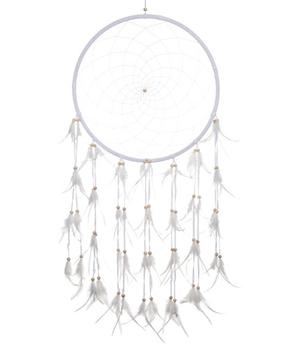 Dreamcatcher Feathers - Pure White 42cm