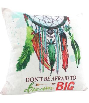 Don´t be afraid to dream BIG - Dreamcatcher Cushion