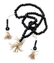 Buddhist Mala Prayer Beads - Bone Black