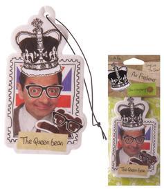 Car / Home Air Freshener Mr Bean Queen - Raspberry