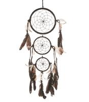 Dreamcatcher Multi 3 - Black 17cm
