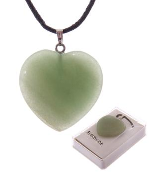 Gemstone Healing Necklace - Heart