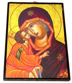 Christian Orthodox Icon - Virgin of Vladimir