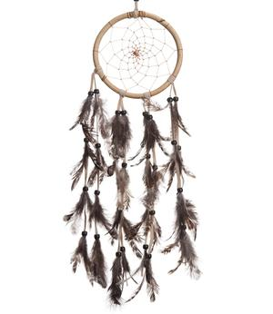 Dreamcatcher Wooden - Feathers 13cm