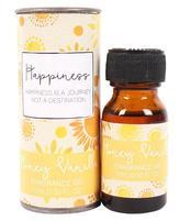 Scentimental Fragrance Oil - HAPPINESS, Honey Vanilla 15ml