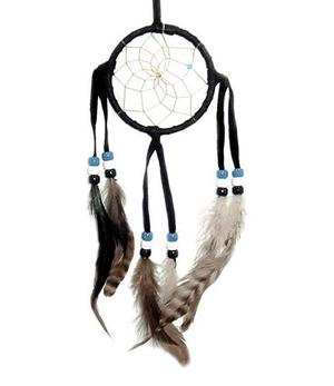 Navajo Dreamcatcher - black, 8cm