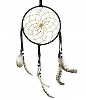 Navajo Dreamcatcher - black, 15cm