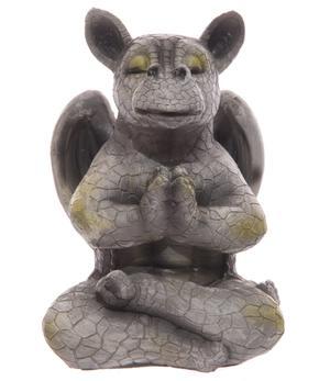 Garden Decoration - Cute Dragon Praying 21cm