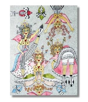 KS | Angel Card | Feet up