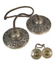 Tingsha Brass Cymbals - Dragon 62mm