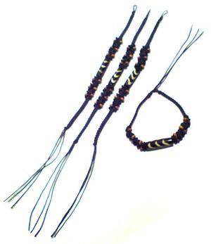 Bracelet | Macramé Friendship - Leather 3