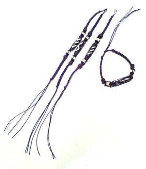 Bracelet | Macramé Friendship - Leather 4