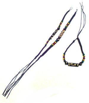 Bracelet | Macramé Friendship - Leather 7