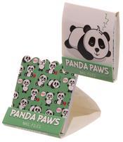 Nail File Match Book - Dark Green Panda