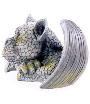 Garden Decoration - Cute Dragon Head 14cm