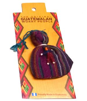 Mayan Worry Dolls - in Bag With Doll