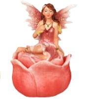 Fairy Flower Box - Orange