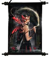 Anne Stokes Art Scroll - Spellbound