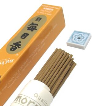 Japanese Style Incense Sticks Morning Star - Amber