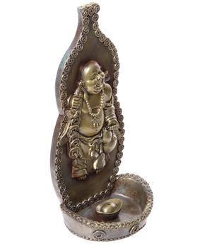 Wall Hanging Incense Holder - Happy Buddha