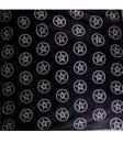 Tarot Cloth Bandana Scarf - Multi Pentagram, black 100x100cm