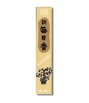 Japanese Style Incense Sticks Morning Star - Vanilla