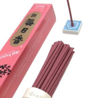 Japanese Style Incense Sticks Morning Star - Lotus