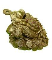 Three-legged Toad - Golden Money Bank 21cm