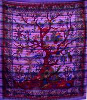 Bedspread Tree of Life - Air