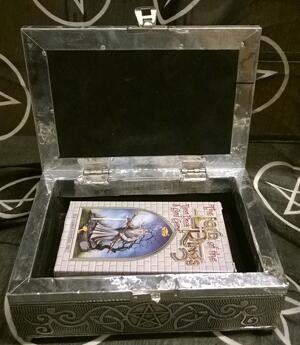 Metal Tarot Box - Pentagram