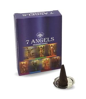 Incense Cones Green Tree - 7 Angels