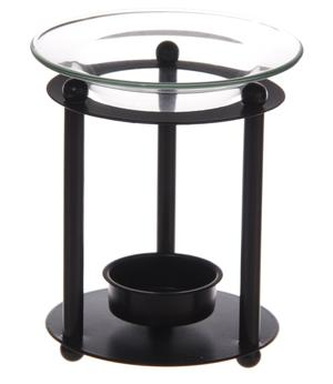 Aroma Lamp - Metallic with Glass Dish