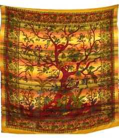 Bedspread Tree of Life - Earth