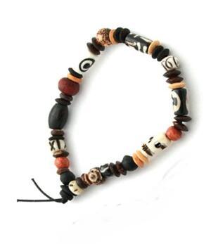 Good Luck Charm BRACELET - Buddha Beads