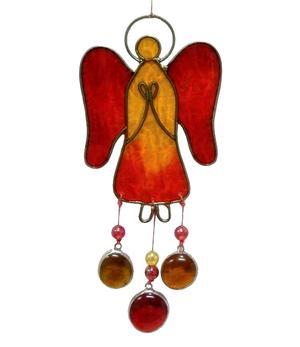 Suncatcher - Angel, Yellow