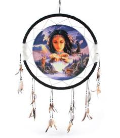 Medicine Shield - Native American Waterfall by Lisa Parker 60cm