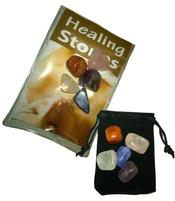 Healing Stones - Set of 5 with Pouch