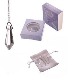 Crystal Pendulum in Purple Gift Box