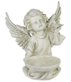 Eden Angel Garden Decoration - Bowl n' Bird 27cm