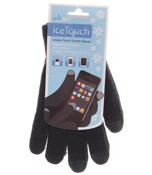 Unisex Touch Screen Gloves - Black