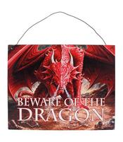 Anne Stokes Metal Sign - Dragon's Lair, 19 x 24cm