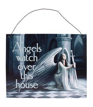 Anne Stokes Metal Sign - The Blessing, 19 x 24cm
