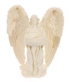 Cream Angel - Telight Holder 18cm