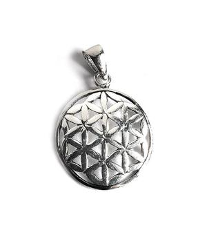 Silver Pendant - Flower of Life