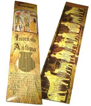 Incense Sticks Incensio Antiqua - Almond Flavour